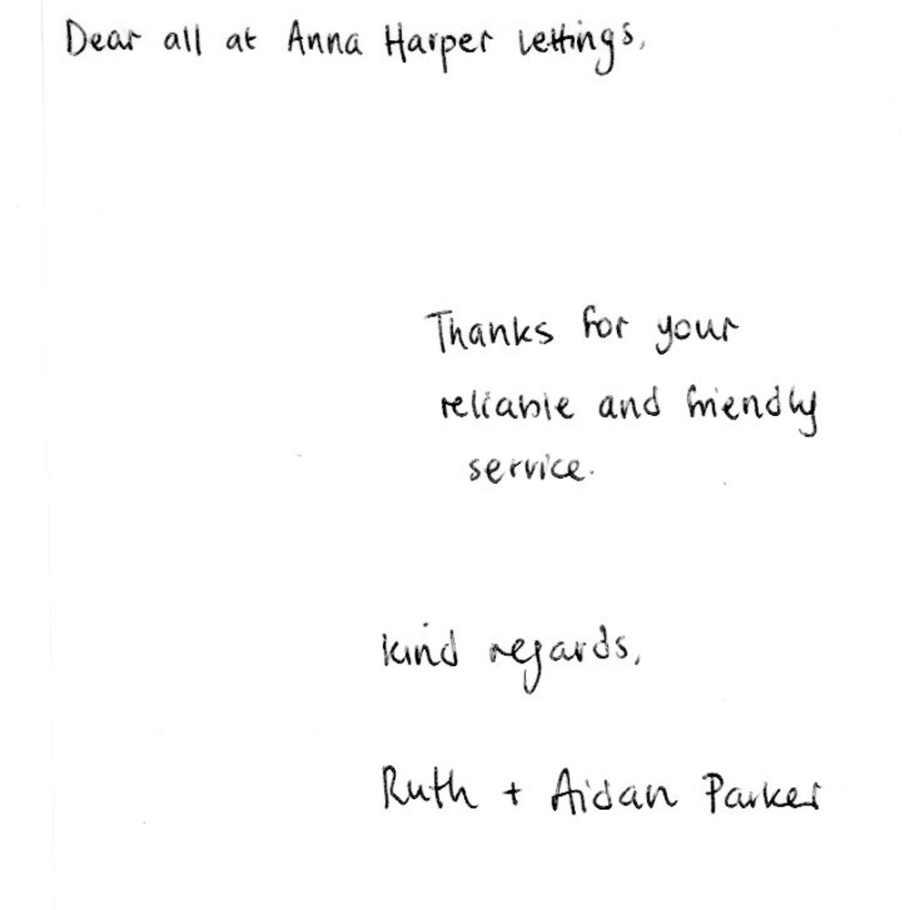 Ruth and Aidan Parker
